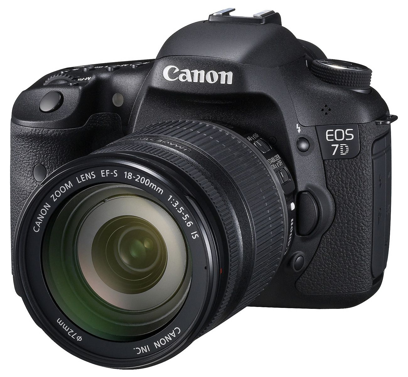 Canon 7D with 18-200mm IS