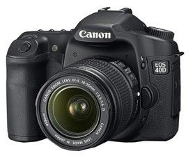 Canon 40D (EF-S 18-55mm IS LENS KIT)