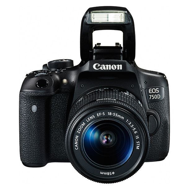 Canon EOS 750D/EOS Rebel T6i/Kiss X8i EF-S 18-55mm F3.5-5.6 IS STM Lens Kit