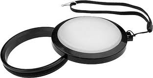 WHITE BALANCE LENS CAP 62MM