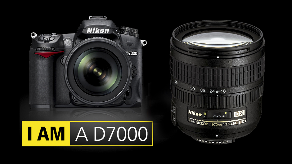 Nikon D7000 with AF-S Dx 18-70mm f 3.5-5.6 G ED VR