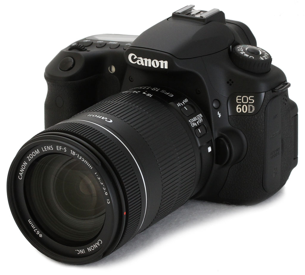 Canon 60D with 18-135mm f 3.5-5.6 IS