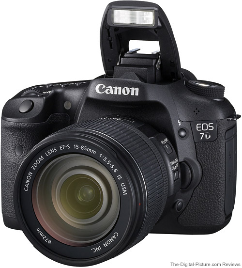 Canon 7D (EF-S 15-85mm 3.5-5.6 IS USM LENS KIT)