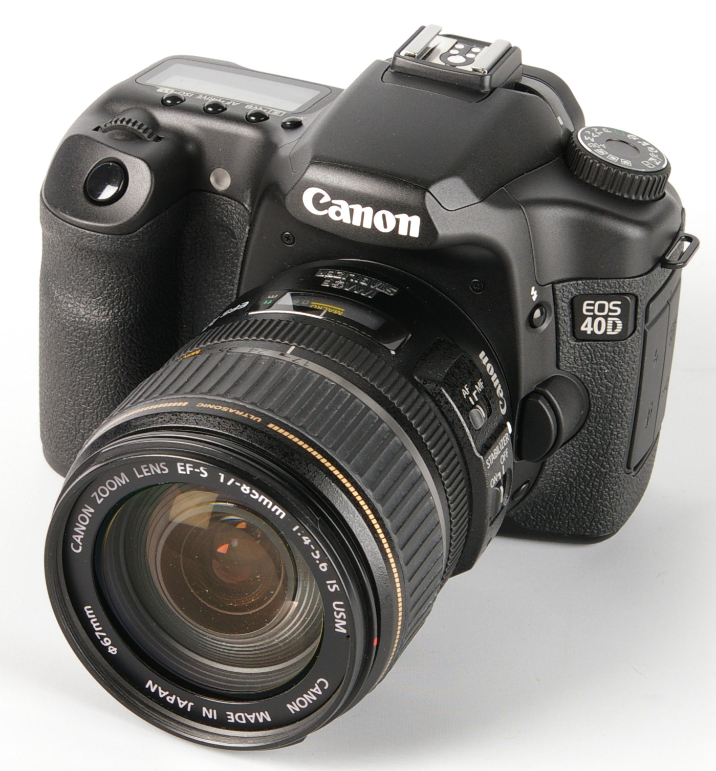 Canon 40D 17-85mm LENS KIT