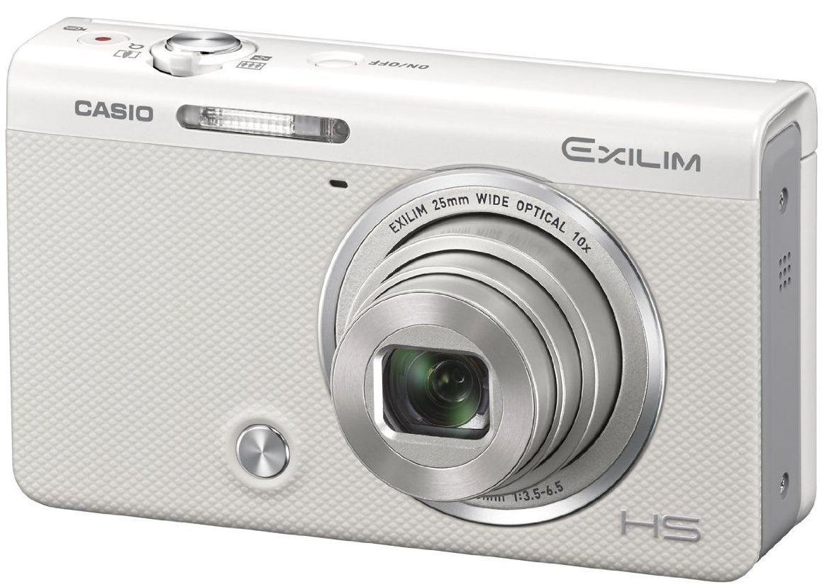 Casio Exilim EX-ZR50 self-portrait, selfie