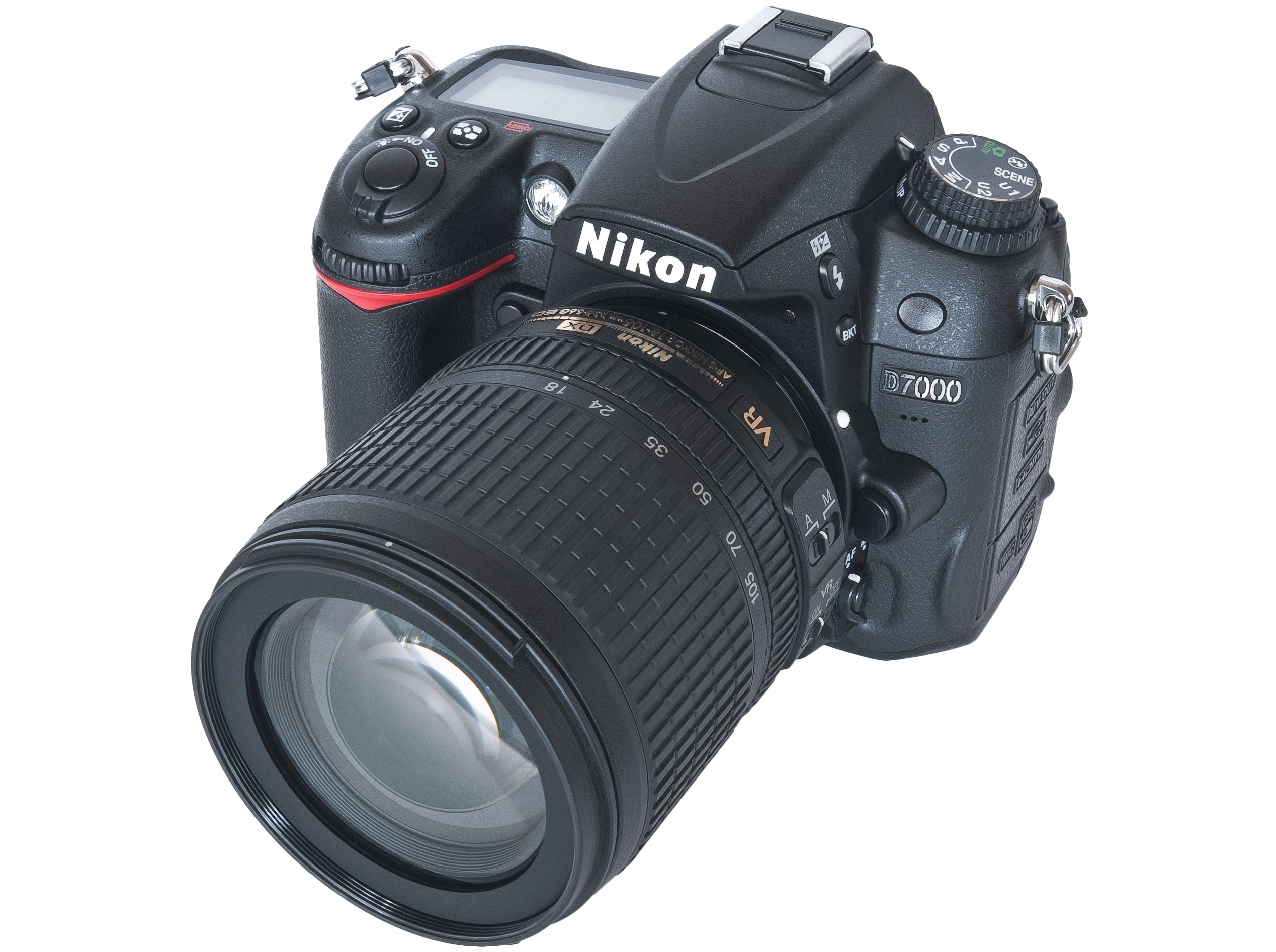 Nikon D7000 with 18-105mm f 3.5-5.6 ED VR