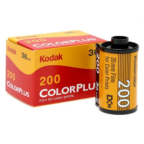 Kodak 35mm Color Plus 200 Negative Film (36 Exposure)