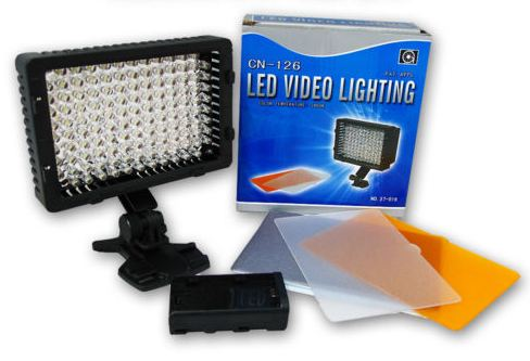 LED VIDEO LIGHTING CN-126