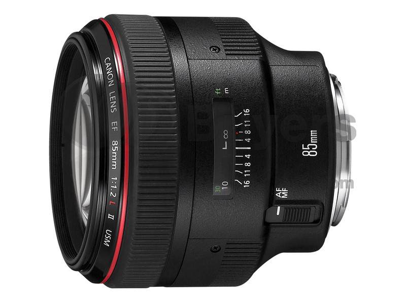 Canon EF 85mm f/1.2L USM Mark II