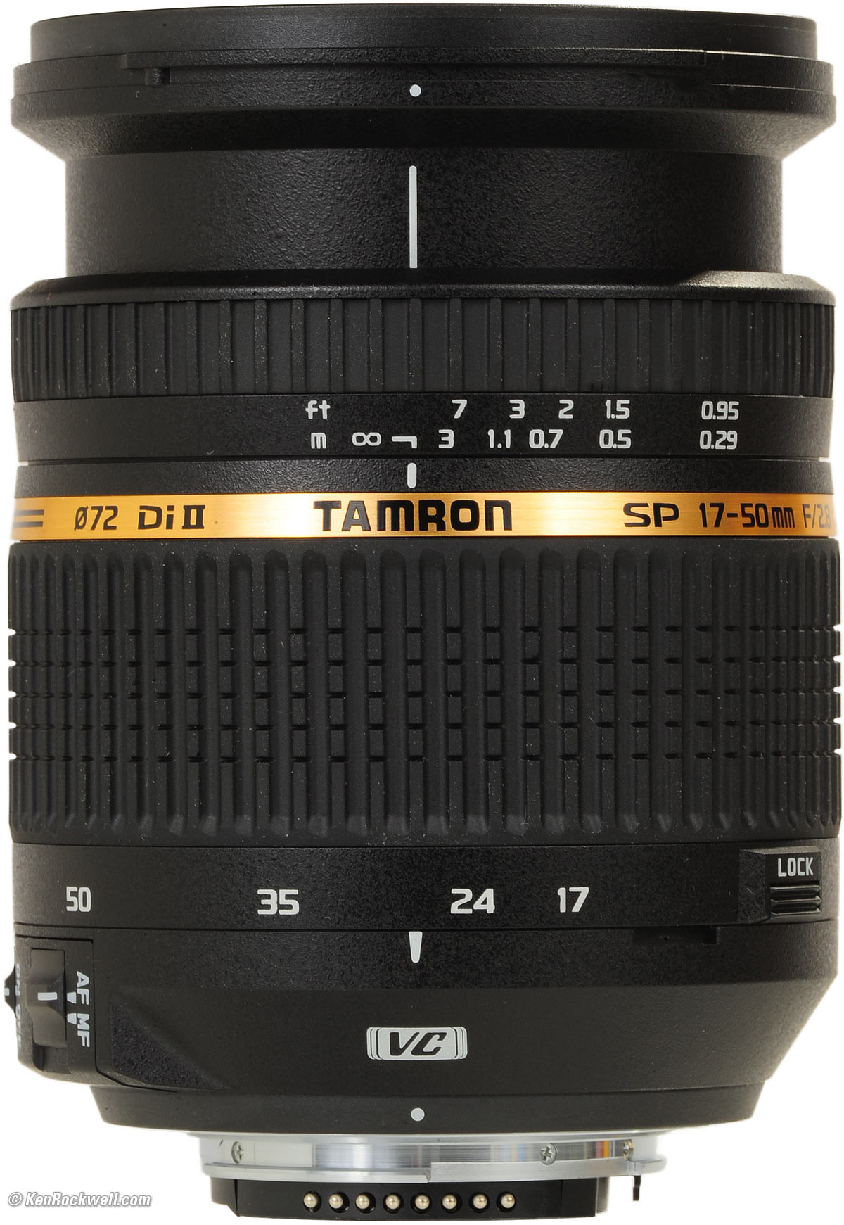 Tamron AF 17-50mm F2.8 XR Di II VC for Canon